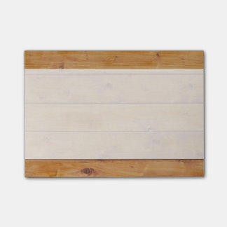 Barn Wall Made of Old Wooden Planks - Brown Post-it® Notes