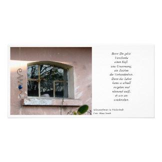 Barn window card