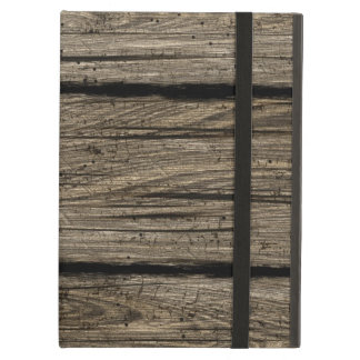 Barn wood case iPad covers