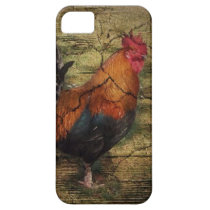 Barn Wood Farm Chicken french country rooster iPhone SE/5/5s Case