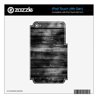 Barn Wood iPod Touch 4G Skins