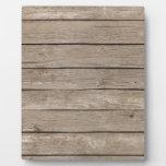 Barn Wood Panels Display Plaques
