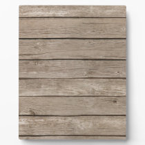 Barn Wood Panels Plaque