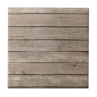 Barn Wood Panels Ceramic Tile