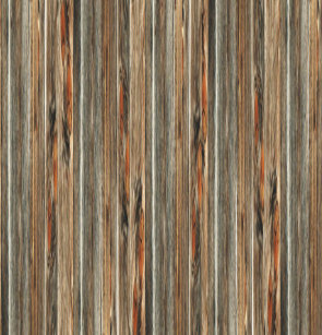 Barn Wood Print Rustic Country Western Shower Curtain
