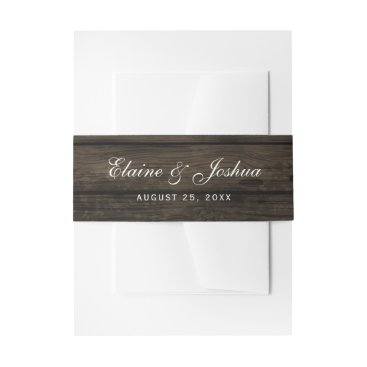 barn wood rustic country chic belly band