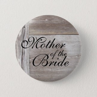 Barn wood wedding button