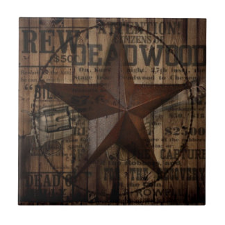 Barn Wood western country Texas Lone Star Tile