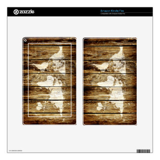 barn world map 2 decal for kindle fire