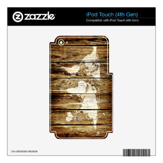 barn world map 2 iPod touch 4G skins