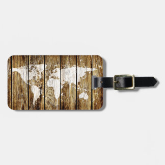 barn world map 2 luggage tag