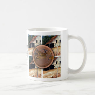 Barn: www.AriesArtist.com Classic White Coffee Mug