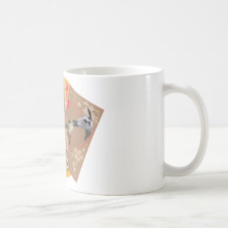 BARN YARD LOVE - LLAMAS KISSING COFFEE MUG