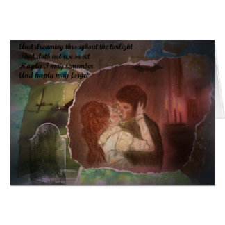 Barnabas and Josette greeting card