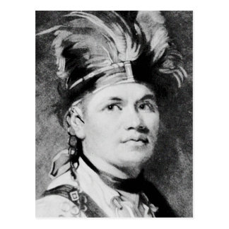 Barnacla - José/jefe indio del Mohawk Tarjetas Postales