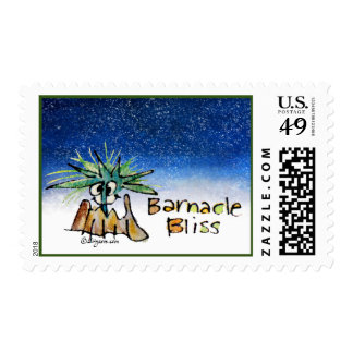 Barnacle Bliss Christmas Whale Postage