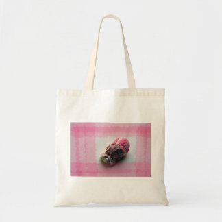 barnacle on canvas pink shell beach image canvas bags