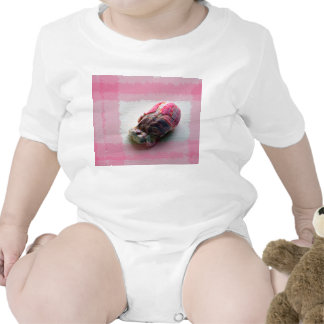 barnacle on canvas pink shell beach image bodysuits