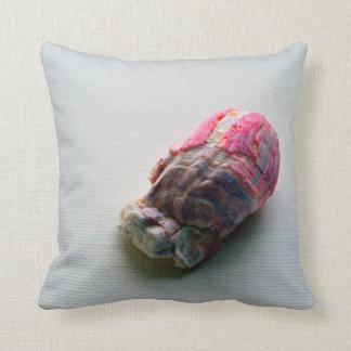 barnacle on canvas sea life image throw pillow