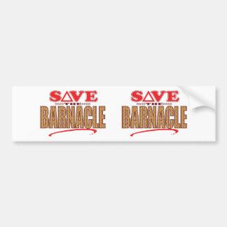 Barnacle Save Bumper Sticker