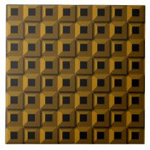 Barnacles in Gold Ceramic Photo Tile