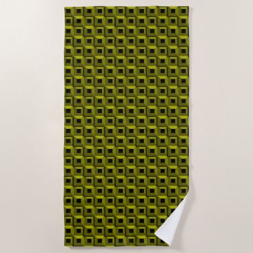 Beach Themed Barnacles in Yellow Beach Towel