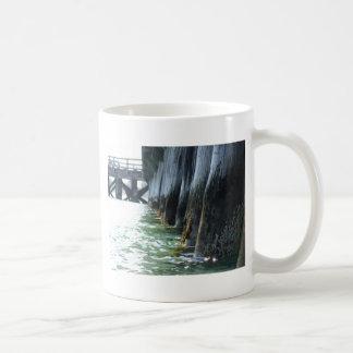 Barnacles on a Pier Classic White Coffee Mug
