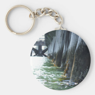 Barnacles on a Pier Keychain