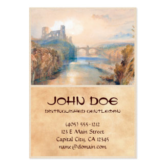 Barnard Castle Joseph Mallord William Turner Large Business Cards (Pack Of 100)