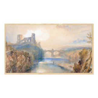 Barnard Castle Joseph Mallord William Turner Double-Sided Standard Business Cards (Pack Of 100)