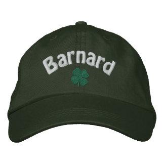 Barnard - Four Leaf Clover - Customized Embroidered Baseball Hat