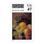 barnard still life w fruit postage stamp