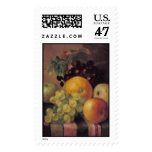 barnard still life w fruit stamp