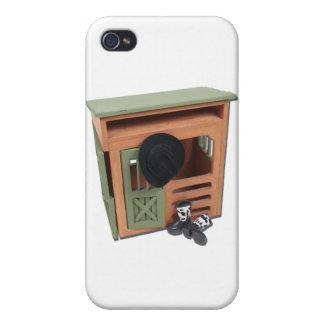 BarnCowboyBootsHat022111 iPhone 4 Cover