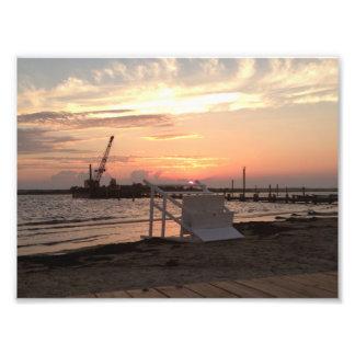 Barnegat Bay Hurricane Sandy Sunset Photo Print