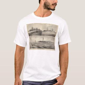 Barnegat Inlet Steamship Amerique T-Shirt