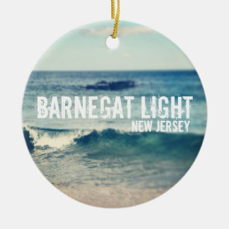 Barnegat Light - 2013 - Recovery at the Shore Ceramic Ornament