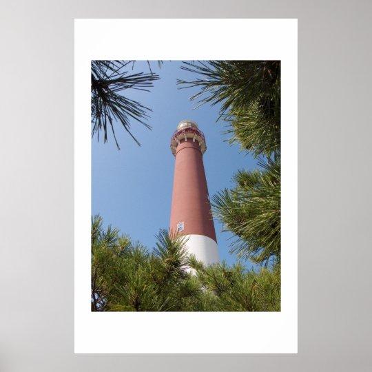 Barnegat Light and Pines Poster