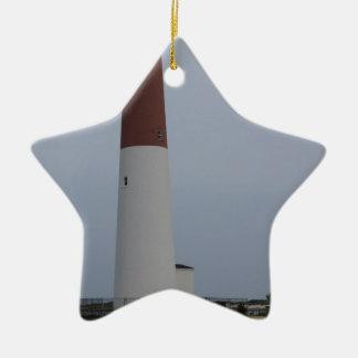 Barnegat Light Ceramic Ornament