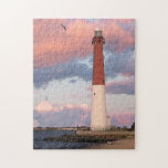 "Barnegat Light / LBI / Jigsaw Puzzle<br><div class=""desc"">Watercolor shows Barnegat Light LBI.  Great gift!</div>"