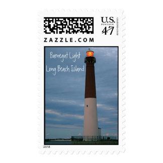 Barnegat Light - Long Beach Island Postage Stamp