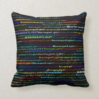 Barnegat Light Text Design I Throw Pillow