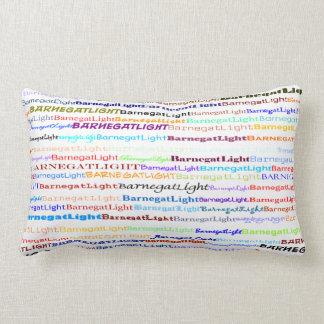 Barnegat Light Text Design II Lumbar Pillow