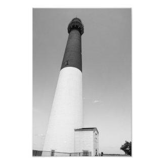 Barnegat Lighthouse B W Art Photo
