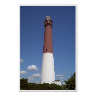 Barnegat Lighthouse - Day Poster