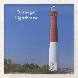 Barnegat Lighthouse Glass Coaster