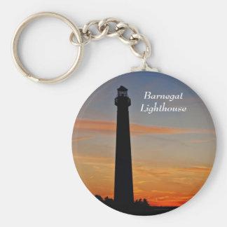 Barnegat Lighthouse IV Keychain