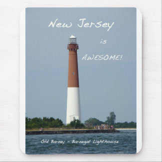 Barnegat Lighthouse Long Beach Island New Jersey Mouse Pad