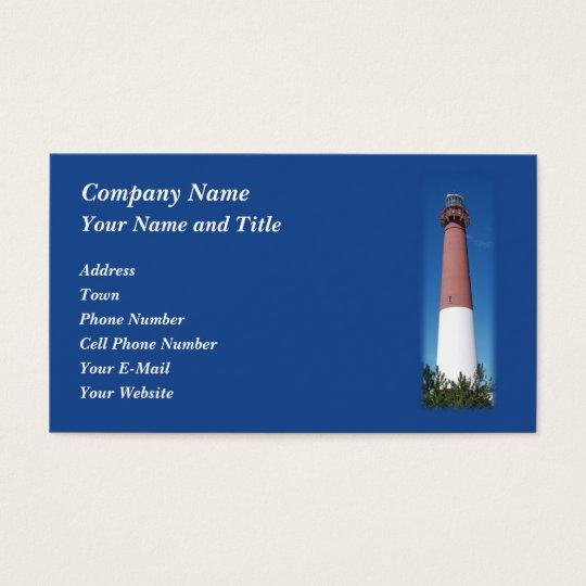 Barnegat Lighthouse: Old Barney Business Card