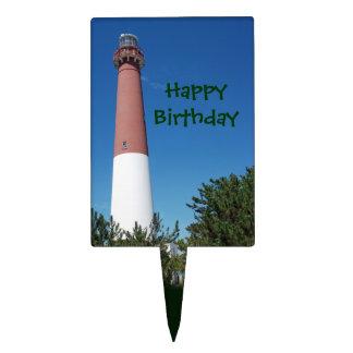 """Barnegat Lighthouse: """"Old Barney"""" Cake Picks"""